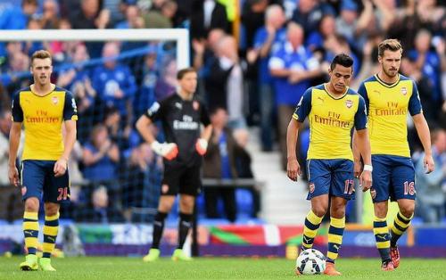 """Arsenal trở lại """"bản ngã"""": Dậy mà... sút - 1"""