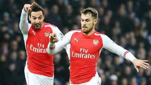 """Arsenal trở lại """"bản ngã"""": Dậy mà... sút - 2"""