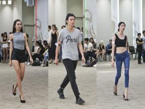 Hàng trăm mẫu casting tuần lễ thời trang quốc tế VN