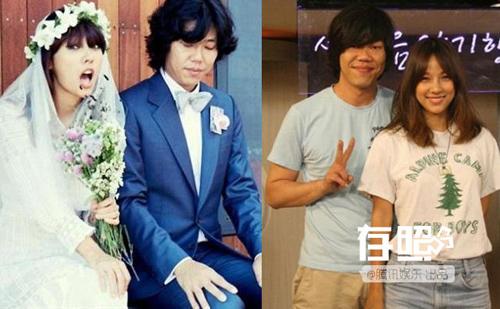 Những cặp vợ đẹp chồng xấu của showbiz Hoa – Hàn - 2