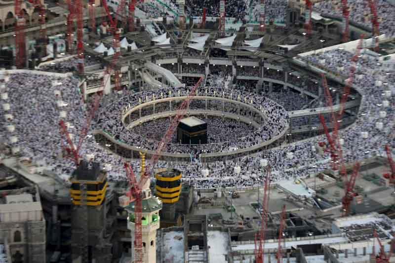 Hiện trường sập cần cẩu tại thánh đường Hồi giáo lớn nhất thế giới - 13