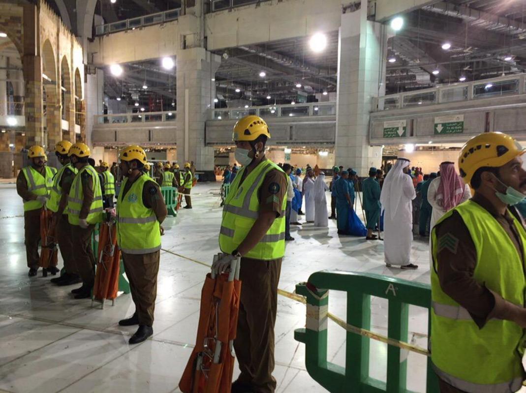 Hiện trường sập cần cẩu tại thánh đường Hồi giáo lớn nhất thế giới - 8