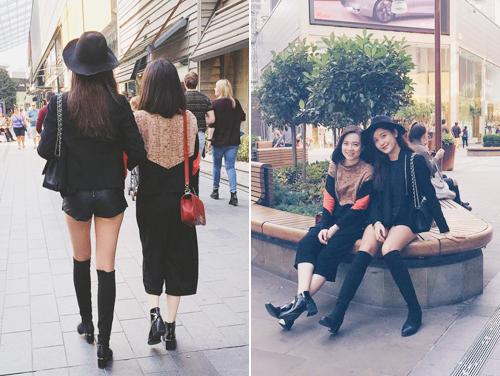 """Đọ street style """"chất lừ"""" của 2 á hậu Việt ở trời Tây - 6"""