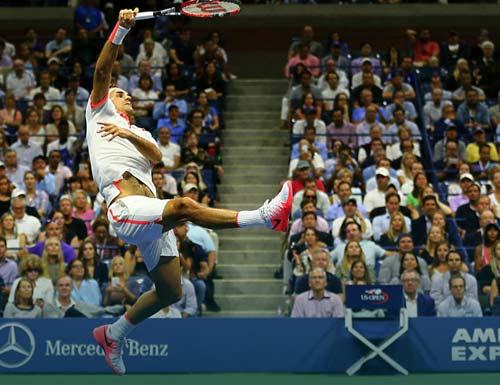 """Federer """"đạp phăng"""" mọi vật cản cho 6 năm chờ đợi - 1"""