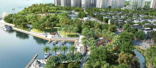 Công viên Vinhomes Central Park- Nơi hiện thực hóa giấc mơ của người Việt - 3