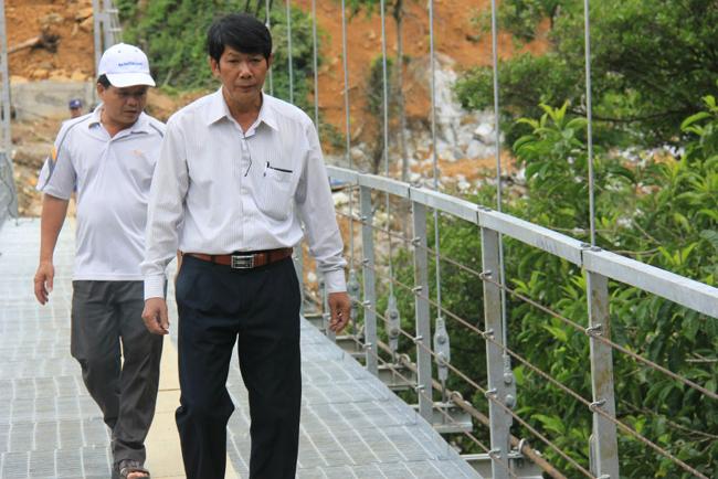 """Cận cảnh """"cầu treo trên mây"""" ở Quảng Ngãi - 8"""