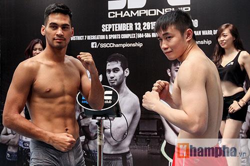 """Võ sĩ """"dọa"""" đối thủ trước giải boxing đỉnh cao ở Việt Nam - 3"""