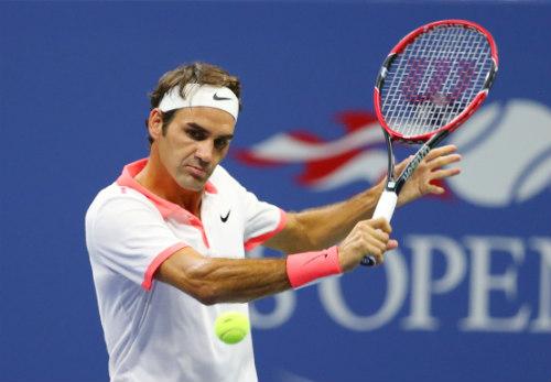 Federer và những cú đánh mãn nhãn tại US Open - 1