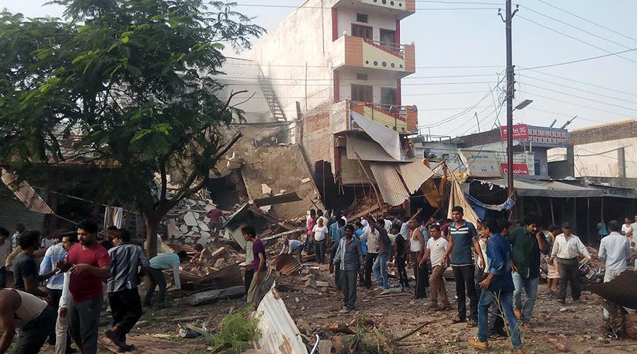 Nổ lớn tại nhà hàng ở Ấn Độ, ít nhất 44 người chết - 1