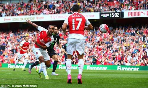 Arsenal - Stoke: Tấn công cống hiến - 1