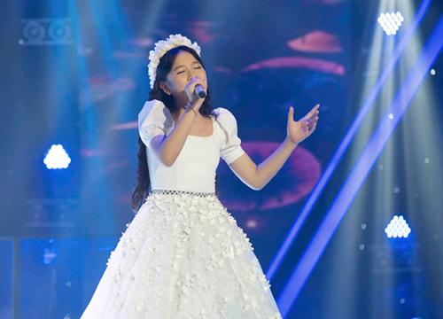 """""""Nổi da gà"""" với cô bé 9 tuổi The Voice Kids - 7"""