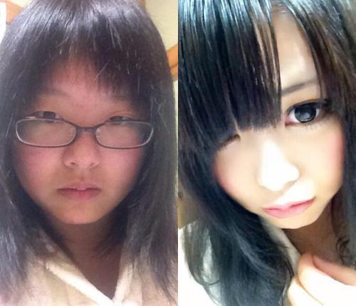 """Cô gái Nhật hóa """"thiên nga"""" nhờ tài son phấn - 1"""