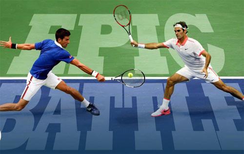 """Djokovic–Federer: """"Đỉnh Everest"""" & """"Tàu tốc hành"""" - 1"""