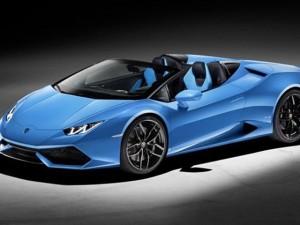 Lamborghini Huracan Spyder siêu hầm hố ra mắt