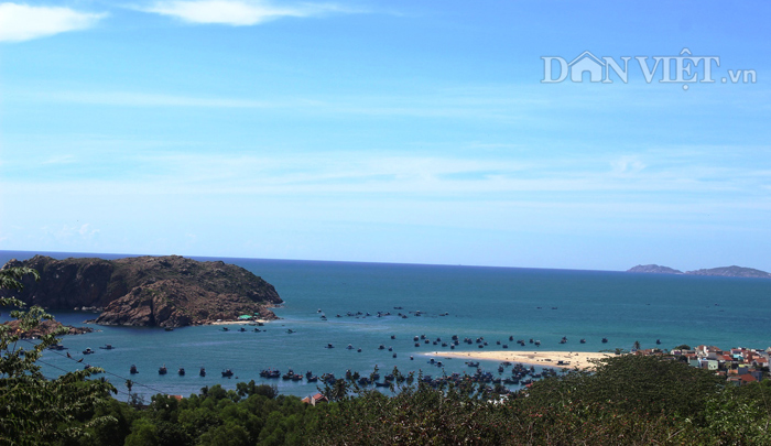 Chùm ảnh: Đẹp bình yên nơi biển Nhơn Hải - 3