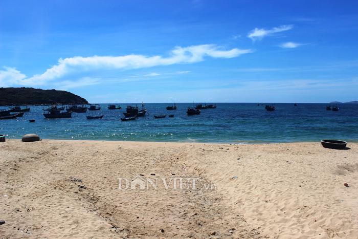 Chùm ảnh: Đẹp bình yên nơi biển Nhơn Hải - 6
