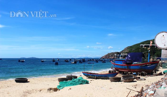 Chùm ảnh: Đẹp bình yên nơi biển Nhơn Hải - 5