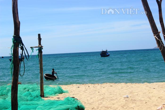 Chùm ảnh: Đẹp bình yên nơi biển Nhơn Hải - 7