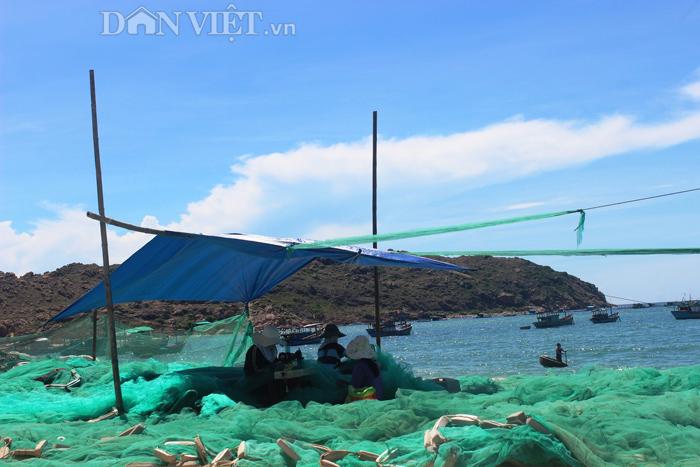 Chùm ảnh: Đẹp bình yên nơi biển Nhơn Hải - 10