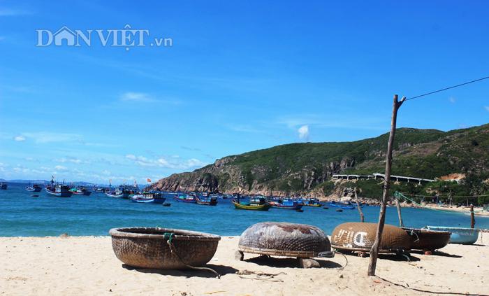 Chùm ảnh: Đẹp bình yên nơi biển Nhơn Hải - 12