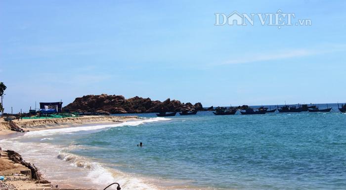 Chùm ảnh: Đẹp bình yên nơi biển Nhơn Hải - 13