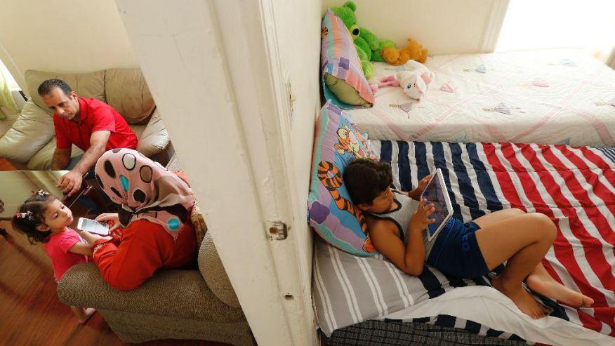 Cuộc sống mới của một gia đình tị nạn Syria trên đất Mỹ - 3