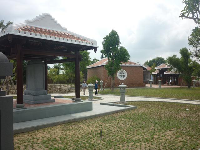 Ngắm khu lưu niệm, nơi ông Nguyễn Bá Thanh an nghỉ