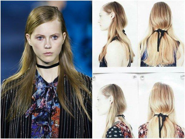 Kiểu tóc lạ gây chú ý tại Tuần lễ thời trang London