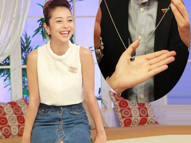 Jennifer Phạm tặng khán giả truyền hình dây chuyền ý nghĩa