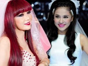 """Những """"cô dâu"""" tuổi trung niên của showbiz Việt"""