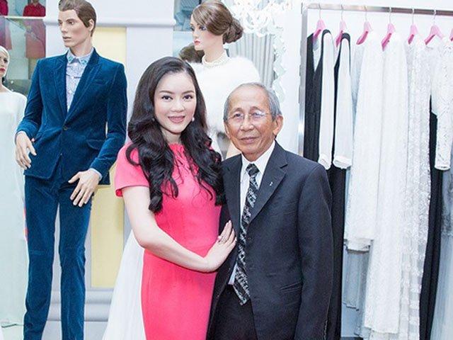 Lý Nhã Kỳ thân thiết với nhạc sĩ Nguyễn Ánh 9