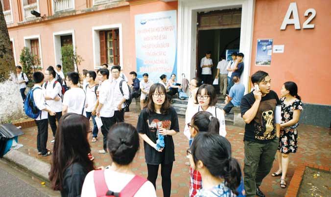 32% thí sinh chỉ thi để xét tốt nghiệp THPT: Đại học không còn là cánh cửa duy nhất! - 1