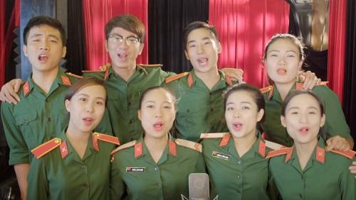 """Minh Quân: """"Hơn 100 nghệ sĩ tham dự MV về 10 liệt sĩ"""" - 2"""