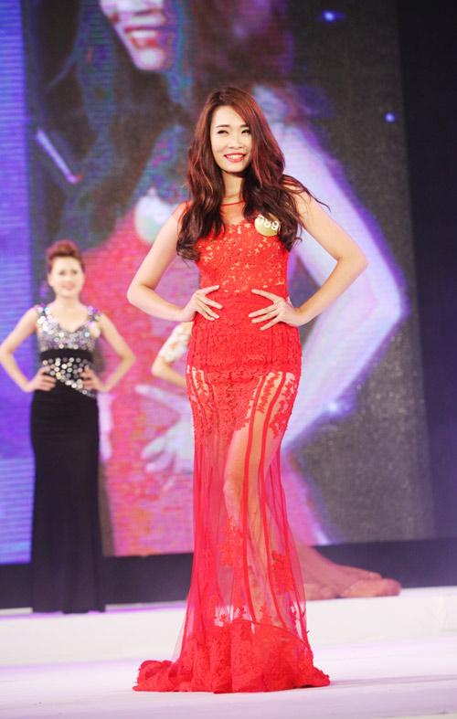 Vẻ đẹp 12 cô gái đầu tiên lọt chung kết Hoa hậu Bản sắc - 7