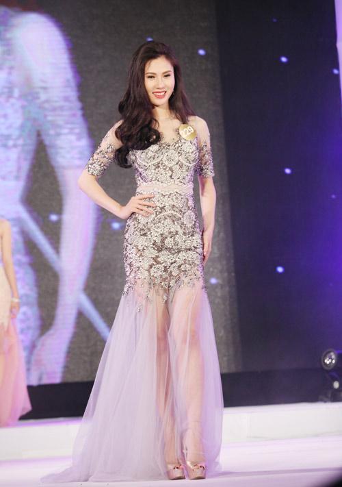 Vẻ đẹp 12 cô gái đầu tiên lọt chung kết Hoa hậu Bản sắc - 18