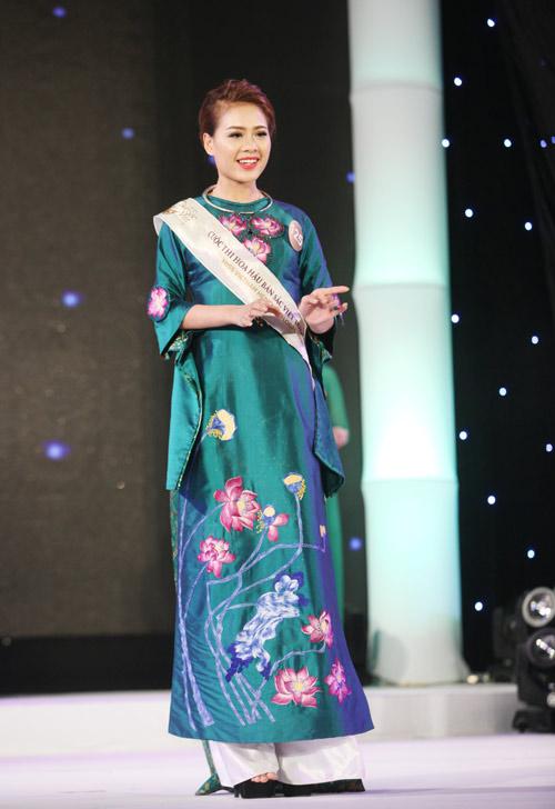 Vẻ đẹp 12 cô gái đầu tiên lọt chung kết Hoa hậu Bản sắc - 15