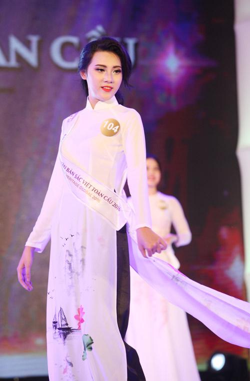 Vẻ đẹp 12 cô gái đầu tiên lọt chung kết Hoa hậu Bản sắc - 17