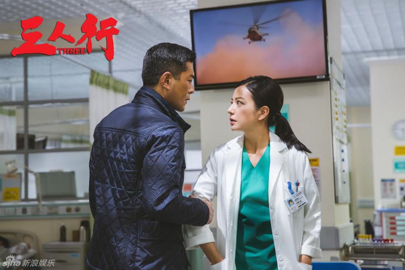 Triệu Vy tím mặt vì bị tát liên tục trong phim hành động mới - 3