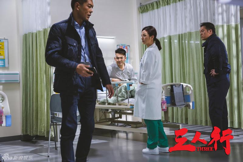 Triệu Vy tím mặt vì bị tát liên tục trong phim hành động mới - 7