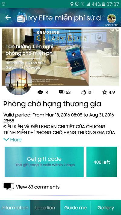 """Những con số """"biết nói"""" về ưu đãi đẳng cấp thương gia của siêu phẩm Galaxy S7/S7 edge - 2"""