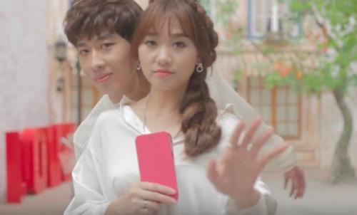 """Hari Won ngọt ngào bên hot boy trong MV """"Anh cứ đi đi"""" - 4"""
