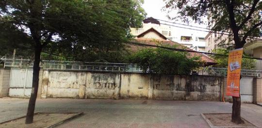 Biệt thự cổ ở trung tâm TP HCM bị phá dỡ - 1