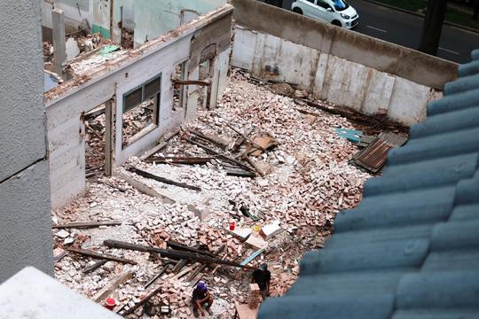 Biệt thự cổ ở trung tâm TP HCM bị phá dỡ - 2