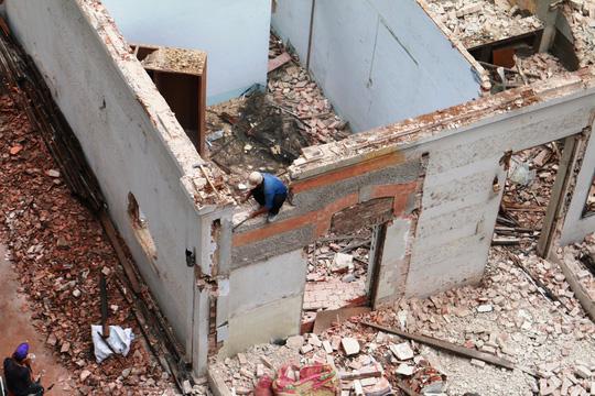 Biệt thự cổ ở trung tâm TP HCM bị phá dỡ - 11