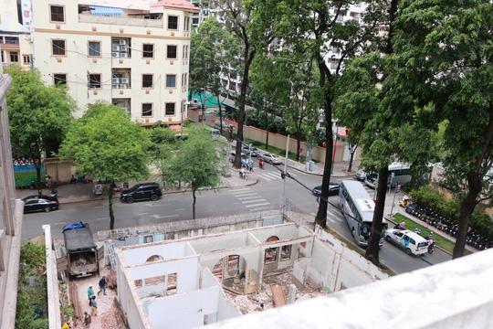 Biệt thự cổ ở trung tâm TP HCM bị phá dỡ - 12