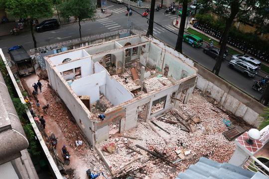 Biệt thự cổ ở trung tâm TP HCM bị phá dỡ - 3