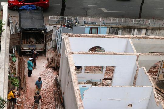 Biệt thự cổ ở trung tâm TP HCM bị phá dỡ - 5