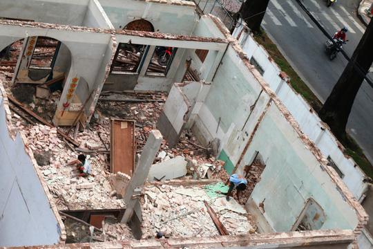 Biệt thự cổ ở trung tâm TP HCM bị phá dỡ - 6