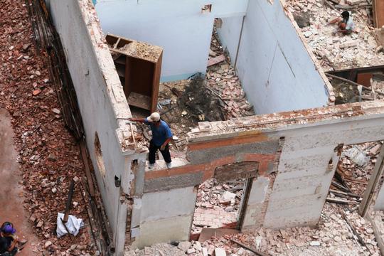 Biệt thự cổ ở trung tâm TP HCM bị phá dỡ - 7