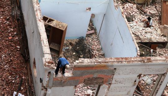 Biệt thự cổ ở trung tâm TP HCM bị phá dỡ - 8